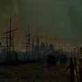 Humber dockside, Hull -1881