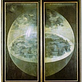Hieronymus Bosch - The Garden of Earthly Delights(1500-1510, 三聯畫未開啟前)