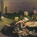 Eventide by Hubert von Herkomer 1878