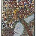 Séraphine Louis 畫作 - Tree of Paradise. (c. 1920–25)