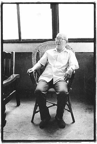 葉石濤(攝影:陳文發)