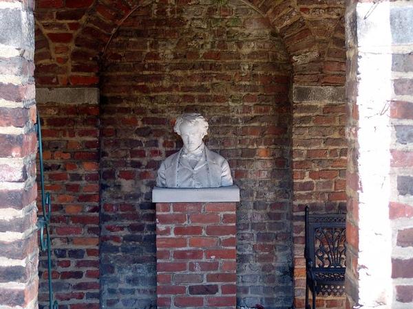 Edgar Allen Poe Shrine in the Enchanted Gardens
