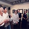 左起:阿盛,吳念真,李天祿;蔡振南(右二)