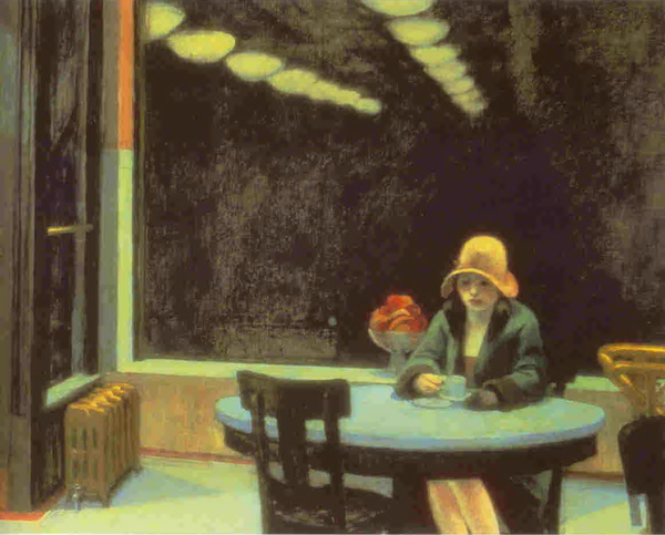 Edward Hopper - Automat, 1927