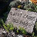 Albert Camus' gravestone 卡繆墓碑