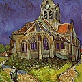 Van Gogh - The Church of Auvers c.1890