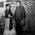 Frida Kahlo vista da Leo Matiz