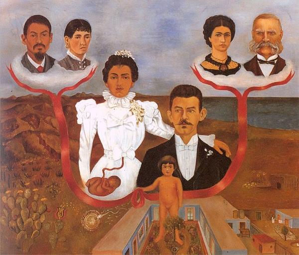 Frida Kahlo - My Parents, My Grandparents and I c.1936