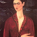 Frida Kahlo - Self-Portrait in a Velvet Dress c.1926