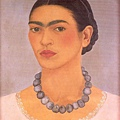 Frida Kahlo - Self-Portrait with Necklace c.1933