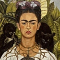 Frida Kahlo - Self-Portrait with Thorn Necklace and Hummingbird, 1940