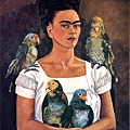 Me and My Parrots, 1941. Oil on canvas