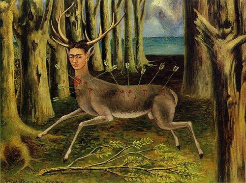 Frida Kahlo  Deer  1946