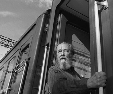 Alexander Solzhenitsyn late in life