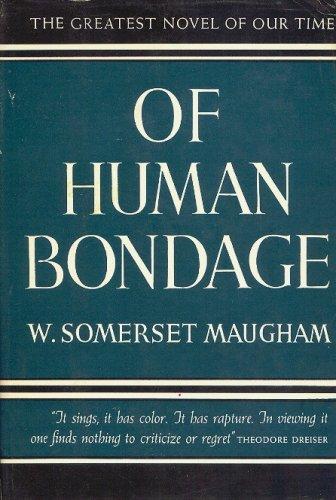 William Somerset Maugham 毛姆 《Of Human Bondage》書封
