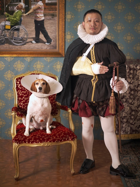 台.陳擎耀。什麼人養什麼狗之我愛維多利亞頸圈