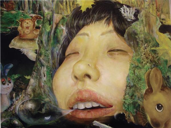 日.松井若菜 從森林來 From the forest