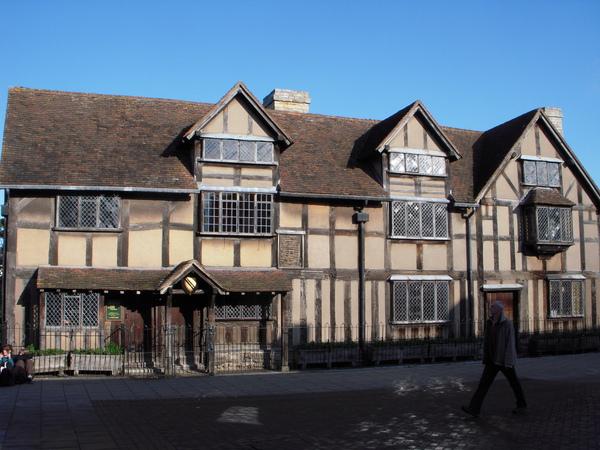 莎士比亞1564年在此誕生(攝影:Jason)