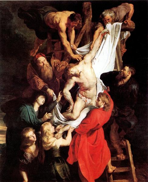 魯本斯作品「從十字架解下的基督」