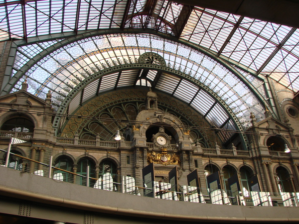 The train station(Antwerp)