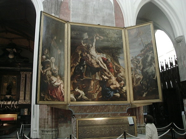 The Elevation of the Cross(Rubens)