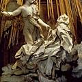 〝Ecstasy of St. Theresa〞, detail.