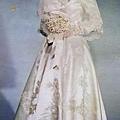 1959年林翠的婚紗照