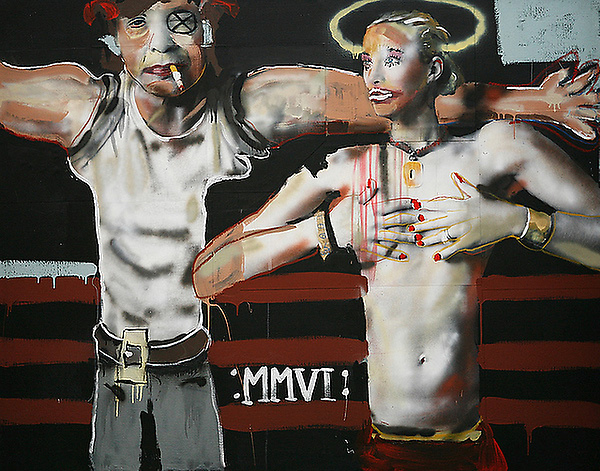 John Cougar Mellencamp painting titled 「mmvi」