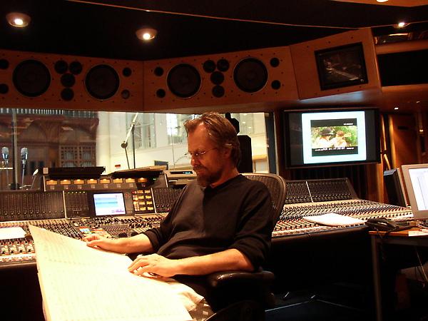 Jan A.P. Kaczmarek 於錄音室