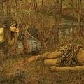 John William Waterhouse - A Naiad