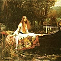 John William Waterhouse - Lady Charlotte