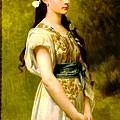 John William Waterhouse - Portrait of Julia Foster Ward
