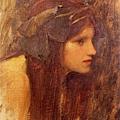 John William Waterhouse - Naiad (study)