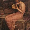 John William Waterhouse - Psyche Opening Golden Box, 1903