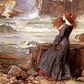 John William Waterhouse - Miranda