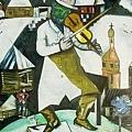 Marc Chagall - Fiddler