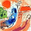Marc Chagall - Maternite Centaur