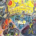Marc Chagall The Circus Horsec, 1964