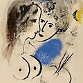 Marc Chagall - Pittore con paletta, 1952
