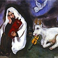 Solitude by Marc Chagall