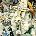 Marc Chagall - WHITE CRUCIFIXION