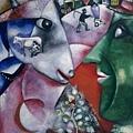 Marc Chagall - 鄉村與我,1923