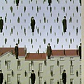 Magritte - Golconde, 1953