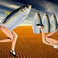 Mujer sardina By Rene Magritte