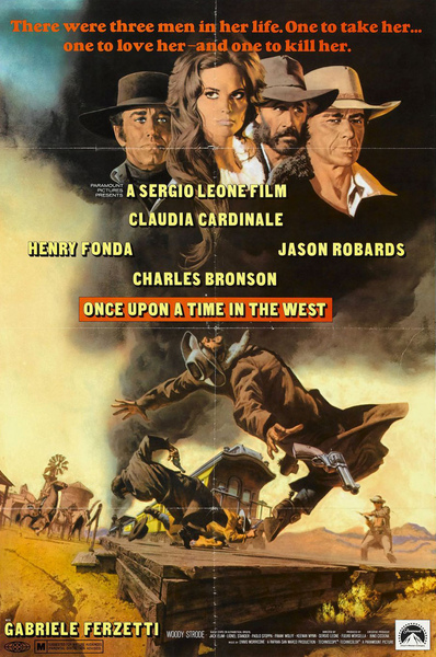 Once Upon A Time In The West 狂沙十萬里 (1969) 海報