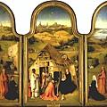 Hieronymus Bosch - Adoration of the Magi(1510, 三聯畫)