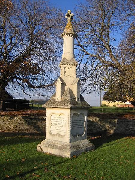 John Clare memorial, Helpston