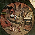 Bosch Hieronymus - The Seven Deadly Sins and the Four Last Things(局部)
