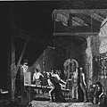 The Forge, engraving, 1859. British Museum