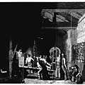 The Forge by James Sharples 1856–59